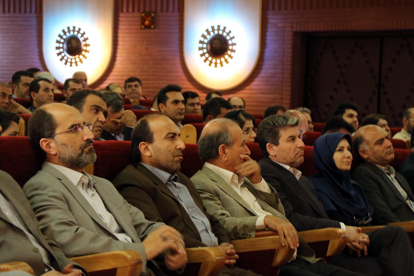 مراسم بزرگداشت روز ملی صنعت و معدن در آذربایجان غربی + تصاویر